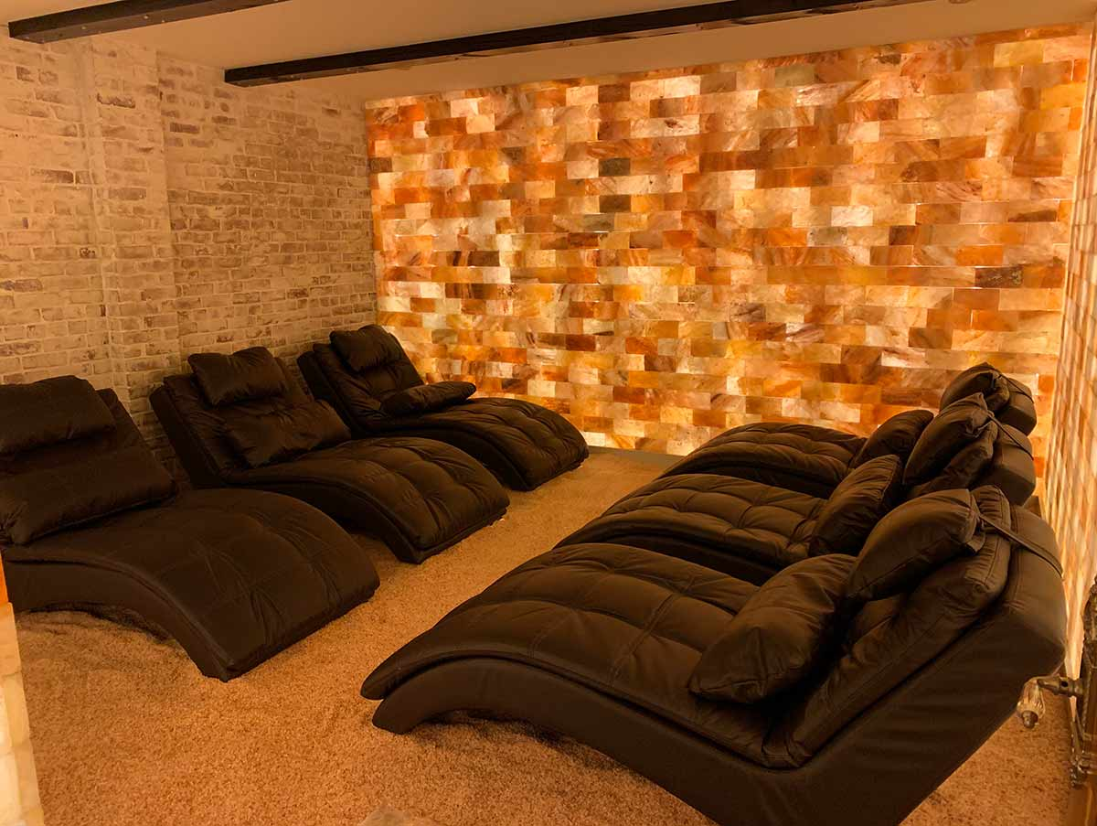 Salt Room image. Ready to relax?